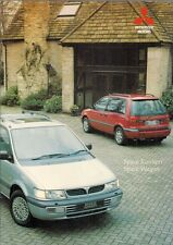 Mitsubishi Space Runner & Space Wagon 1995-96 UK Market Sales Brochure