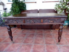 VICTORIAN COUNTRY OAK EDWARDS AND ROBERTS  PARTNERS  DESK  FREE SHIPPING