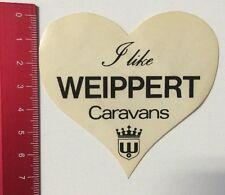 Aufkleber/Sticker: I Like Weippert Caravans (160316116)