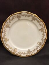 WEIMAR KATHARINA Dinner Plate White & Gold 14051 Made in Germany