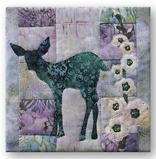 Moon Shadow Laser-Cut Quilt Kit McKenna Fawn'd of Flowers Deer Fawn Batik DIY