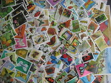 BUTTERFLIES (mostly) & Insects 180 different topical stamps + 4 SS!