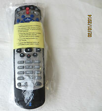 BLACK REMOTE CONTROL DISHNET BELL 6400 6131 6141 9241 9242 21.0 IR/UHF NEW