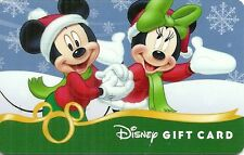 RARE / CARTE CADEAU : WALT DISNEY - MICKEY & MINNIE NOËL CHRISTMAS / CARD