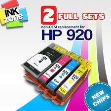 2 Full Sets of non-OEM Ink for HP Officejet Printers 6000 6500 6500A (HP 920)