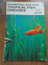 Vtg 1970 1st Ed Prevention & Care TROPICAL FISH DISEASES The Pet Library Ltd