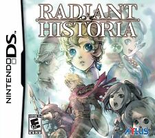 Radiant Historia [Nintendo DS DSi, Atlus Turn-Based JRPG Adventure] NEW