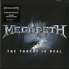 "MEGADETH The Threat is Real 12"" Vinyl Single 2015 NEW & SEALED"