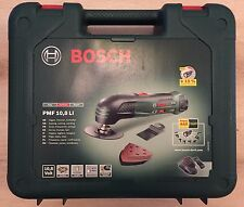 Bosch PMF 10.8 LI Cordless Li-Ion All-Rounder,10.8 V Battery, Carry Case New