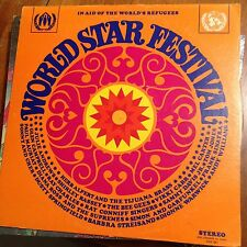 WORLD STAR FESTIVAL-VARIOUS ARTISTS-LP-COLUMBIA SPECIAL