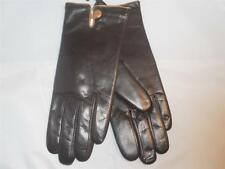 Fownes One Button Brown Genuine Leather Thinsulate Gloves Medium