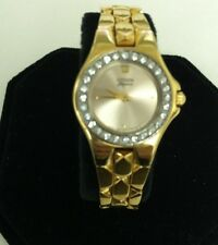 Citizen Elegance Signature Golden Tone  Swarovski Crystal Women Watch