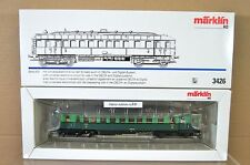 MARKLIN MäRKLIN 3426 DIGITAL 6080 SNCB BR SERIE 600 RAILCAR LOCO MINT BOXED nc
