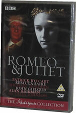 Romeo And & Juliet The Classic BBC Shakespeare Collection John Gielgud DVD New