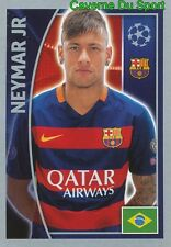 316 NEYMAR JR BRAZIL FC BARCELONA STICKER CHAMPIONS LEAGUE 2016 TOPPS