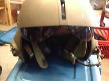 Gentex helicopter pilot helmet  size XL, with mouth piece for cummication SPH-4