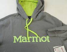 Marmot Pullover Hoody Hoodie Fleece Cotton Blend w Logo NWT 5 Color Style #53640