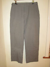 NEXT TROUSERS 32 GREY PANTS CINCH SIDE LOOSE FIT CHINO