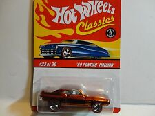 Hot Wheels Classic Series 3  #23 Orange '69 Pontiac Firebird
