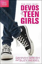 The One Year Devos for Teen Girls by Susan Weibel and Dannah Gresh (2013, Paperb