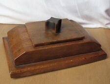 Art deco handmade wooden jewellery box