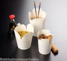 10 para llevar Ronda alimentos Cajas 16oz-Ideal Para fideos chinos de arroz