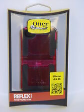 OtterBox Reflex Series for iPhone 4 and 4S - Retail Packaging - Pink Transparent
