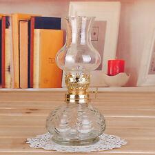 Hot White Glass  Antique Stand Lamp Classic Oil / Kerosene  kerosene oil Lamp