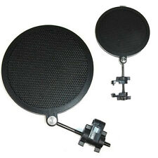 Small Size Studio Mini Microphone Mic Wind Screen Pop Filter Mask Shied Black