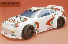 1/8 Toyota Celica Rally Body 1.5mm Ofna GTP Hyper GT Serpent Cobra Traxxas 0155