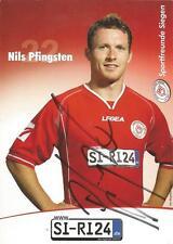 Nils Pfingsten - Sportfreunde Siegen - Saison 2006/2007 - Autogrammkarte