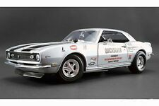 1968 CAMARO Z/28 AHRA IHRA DRAG RACING CHEVY 1:18 GMP CAR QUICK SILVER ACME