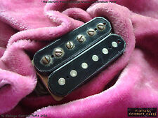 Vintage Gibson PATENT STICKER PICKUP 8.96k PAF TONE humbucker 1958 Les Paul 1959
