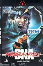 DNA Formula Letale (1989) - VHS Manzotti Video - Gene Le Brock Laura Gemser