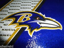 Baltimore Ravens Team Logo Glass Cutting Board with Acrylic Display Stands