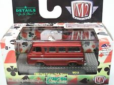 M2 WIld Cards 1965 Ford Falcon Club Wagon Econoline Van WC-12 16-54 RED