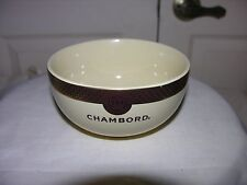 Ice Cream Bowl For Chambord Black Raspberry Liqueur Royale De France