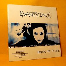 Cardsleeve single CD Evanescence Bring Me To Life 2TR 2003 Nu Metal