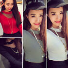 Womens Ladies Sexy Slim Long Sleeve T-Shirt Sweater Fashion Casual Blouse Tops