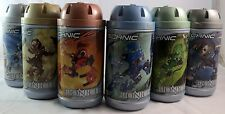 Lego Bionicle Turaga Lot with Canisters 8534, 8531, 8535, 8533, 8532, 8536