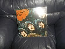 THE BEATLES LARGE METAL RUBBER SOUL ALBUM SLEEVE WALL SIGN - PLAQUE APPLE CORPS.