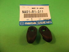 Miatamecca Convertible Top Latch End Cap Set 90-02 Mazda Miata MX5 NA01R1311 OEM