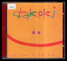 DAKOKI - La Amistad Es... - SPAIN CD Coliseum 1997 - 12 Tracks - Como Nuevo / NM
