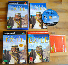 Jeu MYST III 3 EXILE sur Playstation 2 PS2 CD REMIS A NEUF