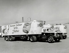 1940 Fritos Chips Delivery Trucks at Continental Can Factory 8 x 10  Photograph