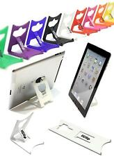 Apple iPad 9.7 Computer Tablet Holder WHITE iClip Folding Travel Desk Stand