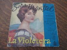 """45 tours sara montiel interprete les chansons du film """"la violetera"""""""