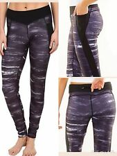 BNWT Lucy Black Storm Print Endurance Tight Size Small  Retail for $89