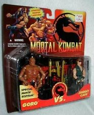 RARE GORO / CAGE Mortal Kombat 2 PACK HASBRO MOC gi joe figure MOVIE