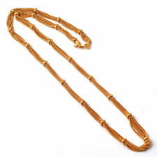 Chain 26 Inch Fine Gold Plated Finish Handmade Work Jewelry